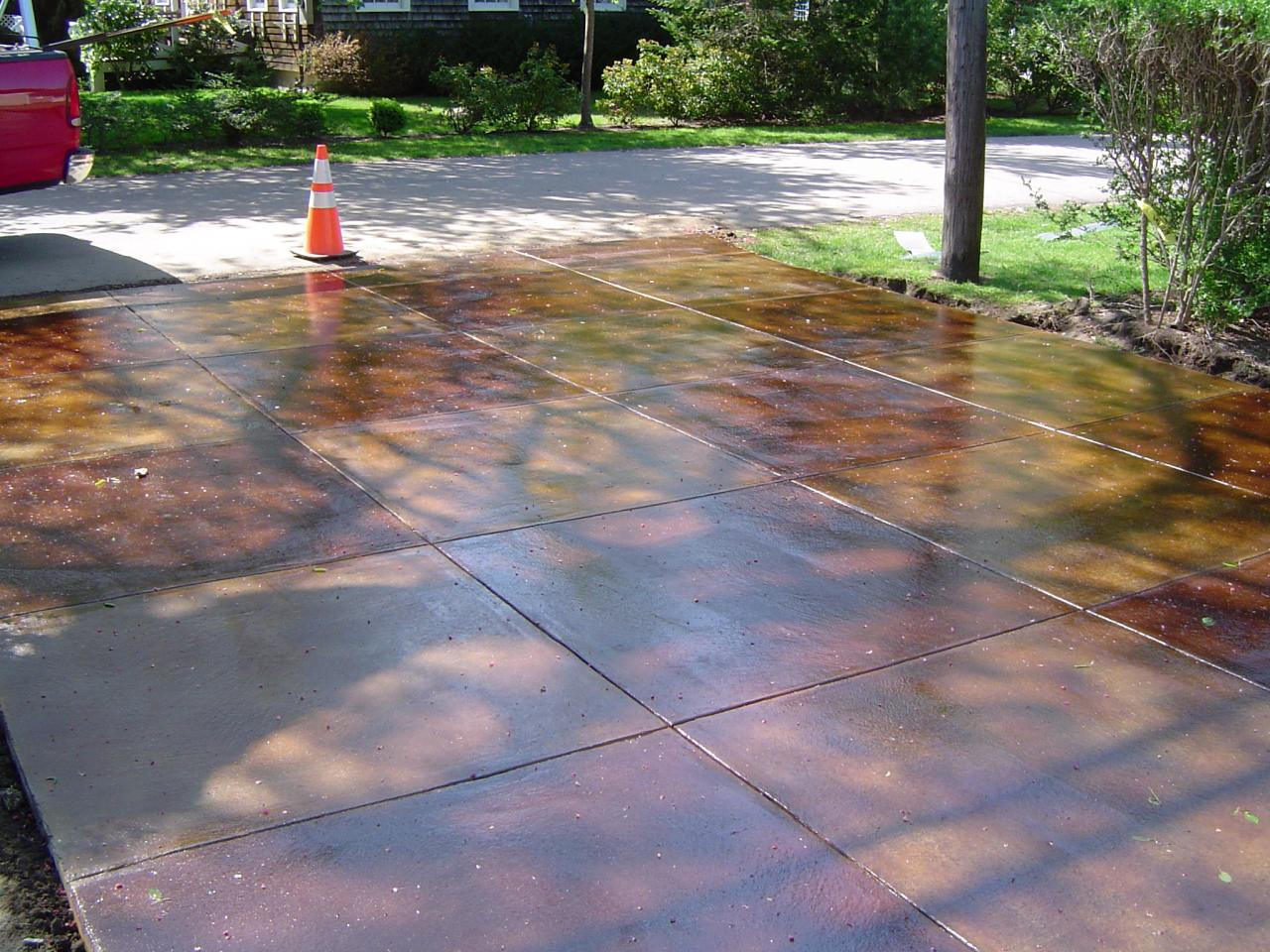 Artistic Concrete Concrete Driveways Options Rhode